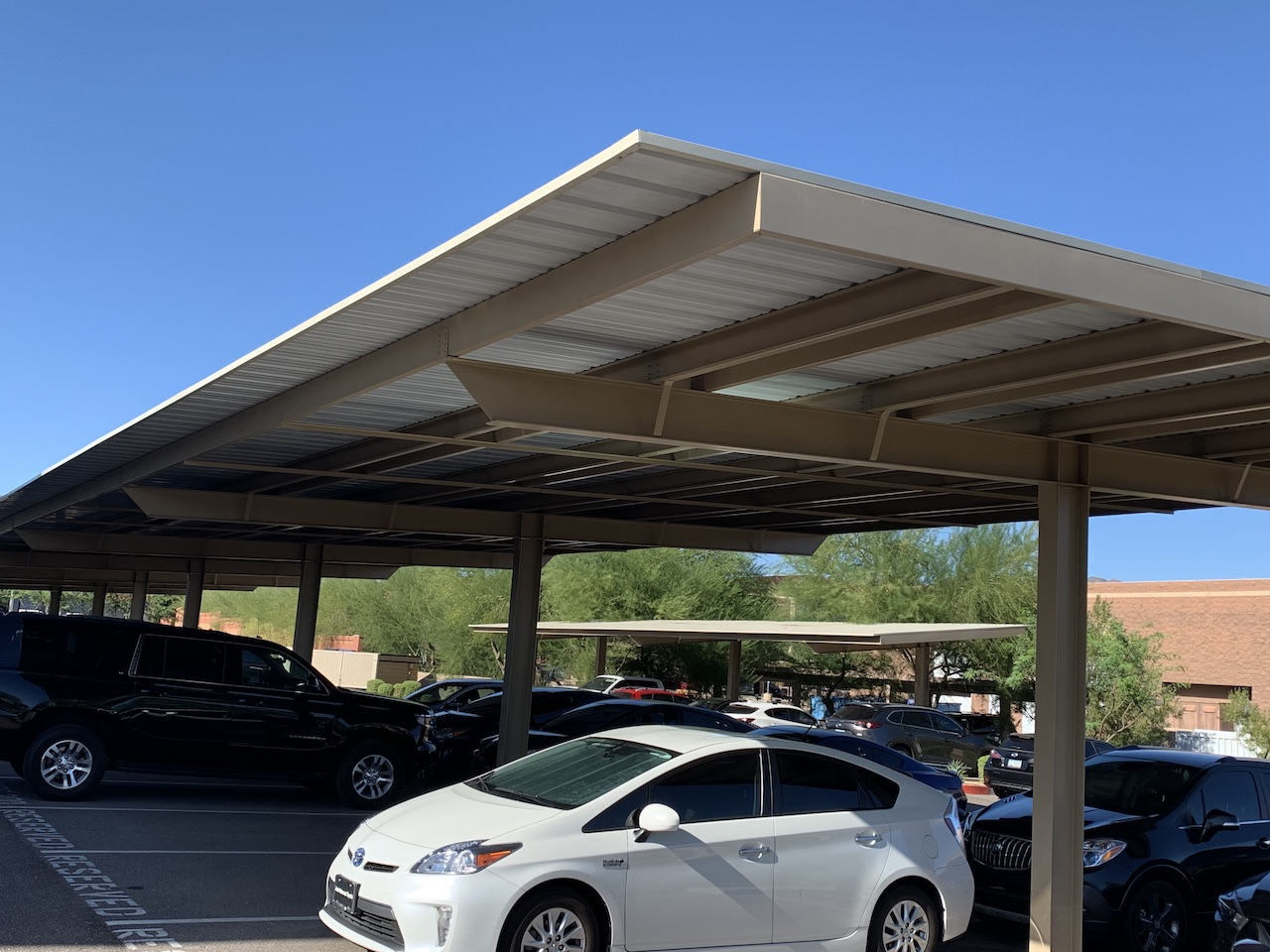 Non solar carports engineered for solar weight & uplift_2