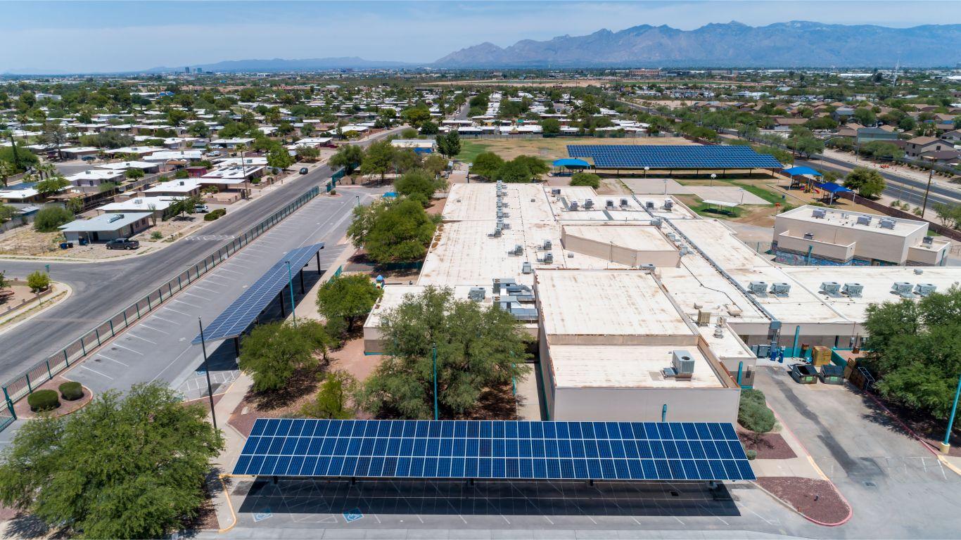 sunrenu solar project esperanza elementary school